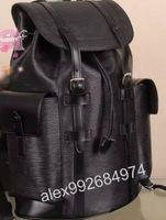 Wholesale explorer string online - Top level Damier Toile Macassar Christopher PM Man Backpack M43735 JOSH EXPLORER backpack School bag leather trim SIRIUS PULSE M50159 N41379