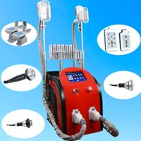 Wholesale vacuum pieces - Diode Slimming Machine body shaping vacuum therapy cavitation equipment rf fat freezing for salon 5 pieces available