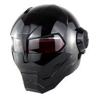 Wholesale Pink Motorbikes - SOMAN Motorcycle Helmet Iron Man Helmet Motorbike Capacetes Casco Retro Casque Moto Riding Helmet Casque Motocross