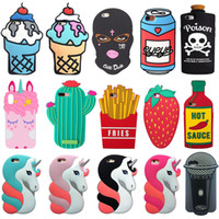 Wholesale branded pouches for sale - Group buy 3D Silicone Cartoon Case Cellphone Protective Cover Skin for iPhone Xs Max Xr Plus High Quality