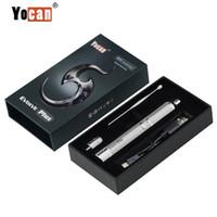 ingrosso cera di vapore e penne-Autentico Yocan Evolve Plus Kit al quarzo Dual Coil Wax Herbal Vaporizzatore 1100mAh penna vape erba secca Vaporizzatore Pen e cigs sigaretta Vapor DHL