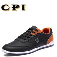 Scarpe casual in pelle da uomo nuove CPI stile britannico moda all-match scarpe  casual lace up traspirante confortevole CC-37 1af3e0b28e4