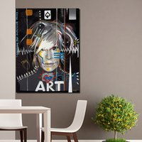 Wholesale Advertisement Printing - Andy Warhol Painting Celebrity Culture And Advertisement That Flourished Wall Art Canvas Paintings For Living Room No Framed