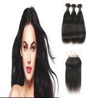 en iyi saç paketleri toptan satış-En Çok Satan Malezya Işlenmemiş Bakire Yumuşak Saç Uzantıları Ücretsiz Bölüm Kapatma Ile 3 Demetleri 100% Gerçek İnsan Saç