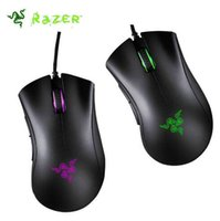razer game mouse 2018 - Factory direct sell razer deathadder chroma symphony USB wired optical mouse gaming mouse computer game mouse with retail free shipping