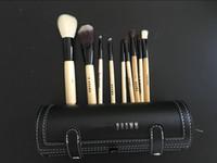 Wholesale mirror brush sets resale online - EPACK Nake Makeup Brushes Sets Cosmetic Foundation BB Cream Powder Blush Eyeshadow Lip Make Up Brush With Mirror