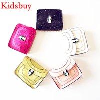 Wholesale Little Girls Mini Purses - Kidsbuy Famous Brand Shoulder Bags for Childrens Baby Kids Small Purse Little Baby girls Shopping bags Kids Shiny Purse Kid mini bags KB114