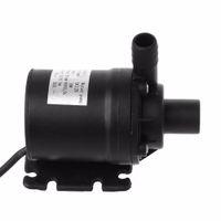 ingrosso dc motori pompe ad acqua-Pompa acqua 800L / H 5m DC 12V Pompa solare senza spazzole a circolazione solare Pompe sommergibili da 22W