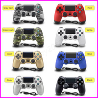 Wholesale battery snowflake - Hot PS4 Controller Snowflakes buttons wireless bluetooth Game controller for PS4 Controller for PS4 game Console with retail box kids toys