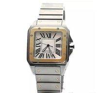 ingrosso orologi bianchi affrontati per gli uomini-Quantità limitata Car Sans serie W200728G orologio da polso da uomo movimento automatico bianco viso in acciaio 316L cinturino orologio originale da uomo