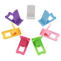 katlanabilir telefon tutacağı standı toptan satış-Yuntohe Evrensel Cep Telefonu Tutucu Standı Katlanabilir Tutucu Telefonu için iPhone için Masa Tablet Xiaomi için Cep Telefonu Tutucu Standı