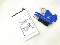 Wholesale Galaxy Tablet Battery - TOOL+tablet EB-BT705FBE Battery For Samsung GALAXY Tab S 8.4 T700 T701 T705 T705C T707 Series Tablet EB-BT705FBC EB-BT705FBU