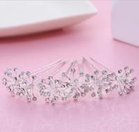 Wholesale feather barrettes - The bride bride bride wedding dress accessories hair ornaments handmade headwear
