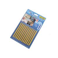 ingrosso odore del bagno-12 Pz / set Sani Cleaing Sticks Mantenere i tubi di scarico chiaro e odore Pulizia domestica Strumenti essenziali Pulitore per tubi Strumenti per il bagno