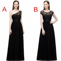 Wholesale one shoulder beach dress - 2018 Babyonline Designed New Bridesmaid Dresses A Line Sleeves Floor Length Flow Chiffon Maid of Honor Gowns Evening Dress CPS818 831