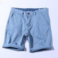 kaliteli giyim çini toptan satış-Yüksek Kalite% 100% Pamuk erkek Şort Yaratıcı Serin Baskı 3d Serin Pantolon 2018 Yeni Varış Ucuz Giyim Çin