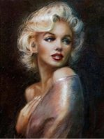marilyn monroe pinturas venda por atacado-Marilyn Monroe diamante Pintura Pintura Completa Quadrado Ponto Cruz Decoração de Casa Pinturas praça Diamante Bordado diy pintura nova