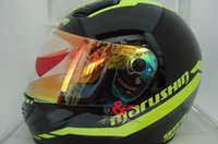 Wholesale helmet original resale online - Original Marushin helmet anti fog lens marushin full face helmet visor for