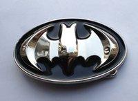 batman tokaları toptan satış-3D Batman Bule Renk Kemer Toka SW-N01su sürekli stok ücretsiz kargo ile 4 cm wideth kemer için