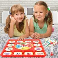 jogos de cartas de memória venda por atacado-Combate cérebro Cartão De Ténis De Mesa turntable memória jogo multiplayer competição