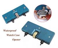 Wholesale waterproof watch case opener - 10mm-55mm Rectangle Waterproof Watch Back Case Opener Tool Adjustable Watchmaker Repair Kit Ideal for Professional Watch Makers