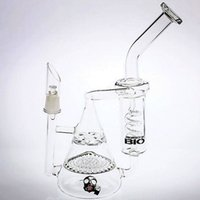 Wholesale two function honeycomb glass percolator - Two Function Pyramid Glass Bong Honeycomb&Tornado Percolator Spring Pipes Recycler Bubbler Oil Rigs Water Pipes Smoking Hookahs
