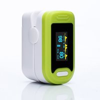 Wholesale Pulse Fingertip Oximeter - Yonker OLED Fingertip Pulse Oximeter Medical Portable OLED Oxygen Saturation Monitor With Lanyard CE & FDA Certified Products(Green)