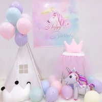 Wholesale quality latex balloons - 50pcs lot 5inch Macaron Latex Balloons Helium Ballon For Party Wedding Birthday Child Toy Globos Good Quality Blue Party Wedding