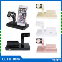 Wholesale iphone charging dock black online - YENTL Charging Dock Stand Bracket Accessories Holder For iPhone Apple Watch in Watch iwatch