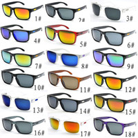 Wholesale cycling sunglasses online - Hot Sale Cheap sunglasses For Men sport cycling Desinger sunglasses dazzle colour mirrors glasses colors