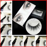 Wholesale under eye makeup - 20 kinds Brand False Eyelashes Eyelash Extensions handmade Fake Lashes Voluminous Fake Eyelashes For Eye Lashes Makeup