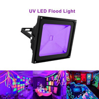 Wholesale glow power - UV Light Blacklight High Power 10W 20W 30W UV LED Floodlight Waterproof for Party Supplies Neon Glow Glow in the Dark Fishing Aquarium