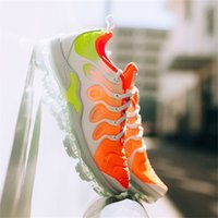 Wholesale sneakers shoes branded - 2018 New Vapormax TN Plus VM Barely Grey In Metallic Women Mens Running Sports Designer Luxury Shoes For Men Sneakers Brand Trainers