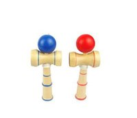 ingrosso gioco tradizionale in legno giapponese-Alta qualità Kendama Brief Kid Kendama Coordinate Ball Gioco di abilità in legno tradizionale giapponese Gioco educativo
