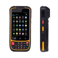 mobil wifi sistemi toptan satış-4G Android Mobil veri toplayıcı pda terminali 2D 1D barkod okuyucu wifi envanter yönetimi depo sistemi için bluetooth
