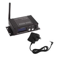 Wholesale dmx transmitter receiver - 2.4G Wireless DMX 512 Controller Transmitter Receiver LCD Display Power Adjustable EU US UK AU Plug Lighting Controller