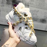 boncuklu çizmeler toptan satış-2019 yeni moda bayan botları bayan spor rahat nefes yumuşak pamuklu yapışkan boncuklu sapanlar düşük çizmeler 35-44
