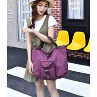 Wholesale good designer handbags for sale - Group buy Portable Travel Bag Feel Good Man And Women High Quality Handbag Literary Lady Canvas Bags hj Ww