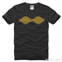monos de roca al por mayor-Venta caliente de moda Harajuku Arctic Monkeys Rock camiseta de los hombres para hombre 2017 nueva manga corta O cuello de algodón Casual Top