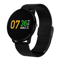 экранные устройства оптовых-Смарт-браслет с тестом сердечного ритма GPS смарт запястье OLED сенсорный экран носимых устройств фитнес-трекер для iOS Android