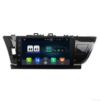 Wholesale Toyota Corolla Dvd Gps Player - AUTO Radio Android 7.1.2 Quad Core 2 Din 10.1'' 2GB RAM new UI CAR dvd gps radio video player for Toyota Corolla 2014-2015 (Left D