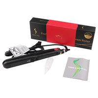 ingrosso asciugatrice-KangRoad Mini Flat Iron Hair Curling Iron 2 in 1 professionale per capelli Iron Salon Steam Styler Curling Iron Hair Styling Tool
