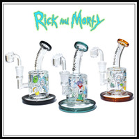 Wholesale dab nail female online - glass bong oil rig MM thickness banger nail glass bongs female joint MM bubbler dab rig