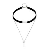 полосатые горячие женщины оптовых-whole saleKISS WIFE long necklace Allergy Hot Sale Style Chain Long Necklaces Pendants Rose Strip Bar Jewelry For Women