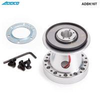toyota corolla kits großhandel-ADDCO Aluminium Lenkrad Nabe Boss Kit für Toyota Chaser KE70 AE71 AE82 AE86 Supra Corolla ADBK16T