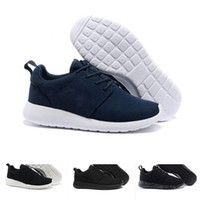Wholesale Cotton Ink - 2018 New Run Inked Black White Women Running Shoes For Men London Olympic Runs Shoes Sneakers Sport Shoes Trainers 36-45