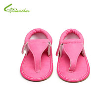 Wholesale Boy Shoes Flip Flop - 2018 Summer Baby First Walkers Toddler Newborn Baby Girls Boys Shoes Summer Sandales Shoes Anti-slip Flip Flop Prewalker