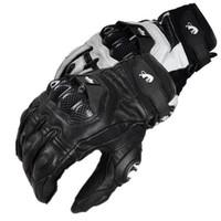 bmx yarış bisikleti toptan satış-YENI Sıcak Satış Furygan AFS 6 Deri Motosiklet eldiven Moto GP BMX Eldiven Yokuş Aşağı dağ bisikleti Bisiklet yarışı eldiven H