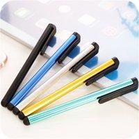 evrensel tablet toptan satış-Samsung Universal Tablet PC Akıllı Telefon İçin Kapasitif Dokunmatik Ekran Stylus Kalem