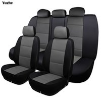 Wholesale accessories for rav4 - Yuzhe Universal auto Leather Car seat cover For Corolla RAV4 Highlander PRADO Yaris automobiles accessories seat cover